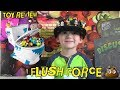 FLUSH FORCE Toilet Blind Bags DISGUSTING DIY Poop Slime Kit TOY REVIEW Unboxing GROSS FUN