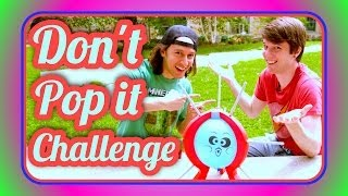 Don't Pop It Challenge | UruguayoIncoherente ft. Aaron Drake from Pixel Litch Productions