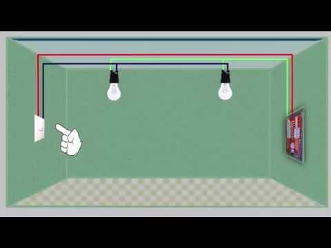 VIDEO AULA 2  - INTERRUPTOR SIMPLES PARA  2 LAMPADAS