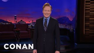 """Conan: Last Time I Was On TV, I Had To Get Permission To Say The Word """"Shithole""""  - CONAN on TBS"""