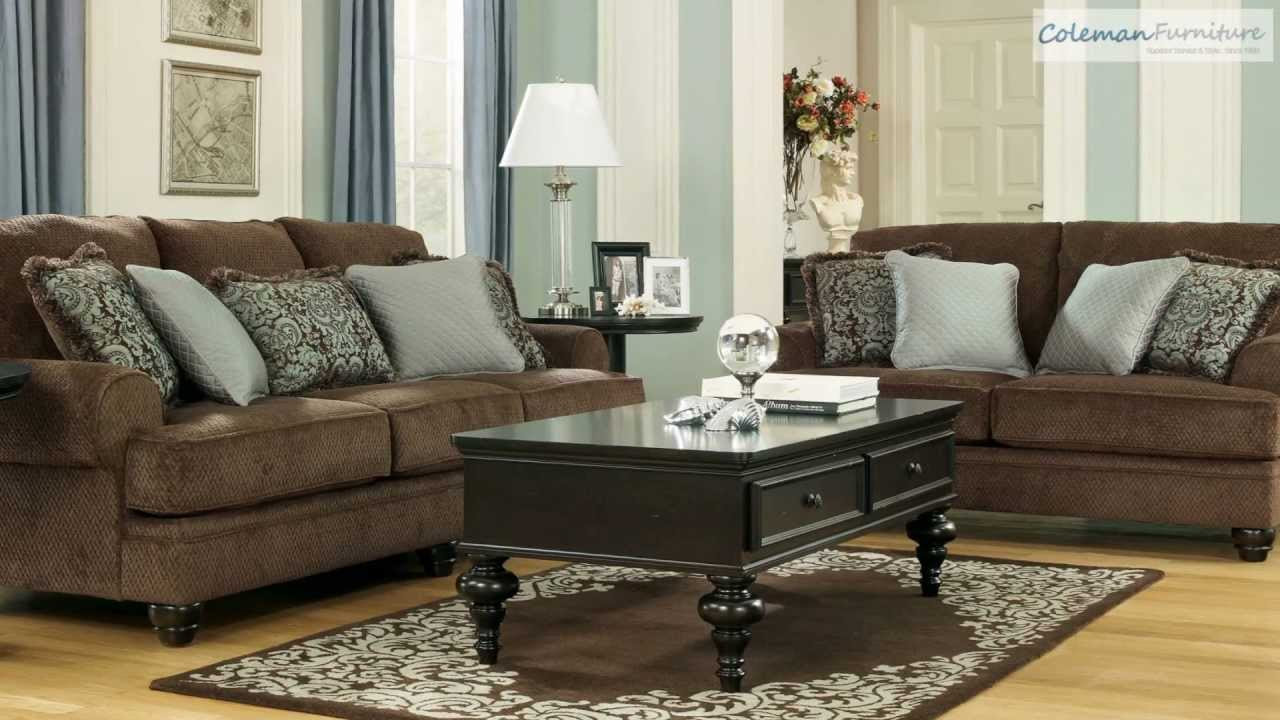 Watch on Ashley Furniture Living Room