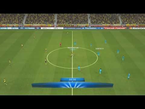 PES14| Champions League Achtelfinale RS Borussia Dortmund vs Zenit St. Petersburg | Saison13/14