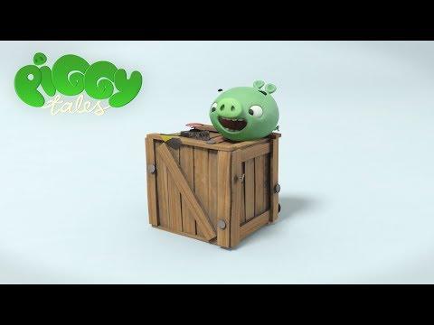 Piggy Tales - Tlačidlo