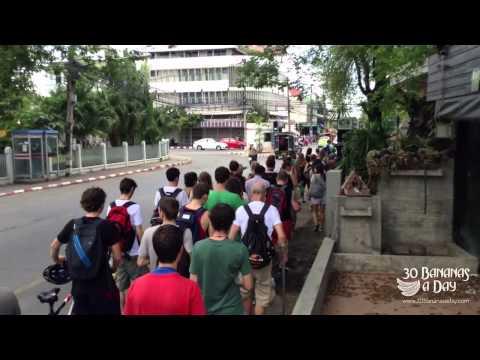 Raw Till 4 Thai Fruit Festival Vlog