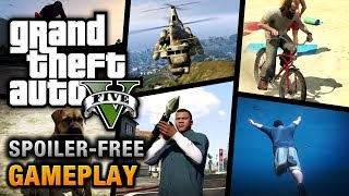 GTA 5 Gameplay [No Spoiler]