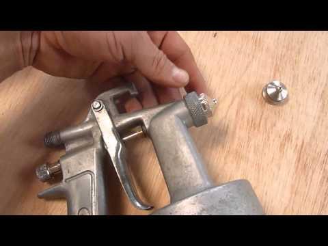 Mantenimiento de compresor de aire y pistola de pintar - Como pintar a pistola ...