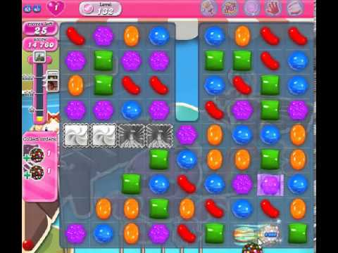 How to beat Candy Crush Saga Level 132 - 3 Stars - No Boosters - 143
