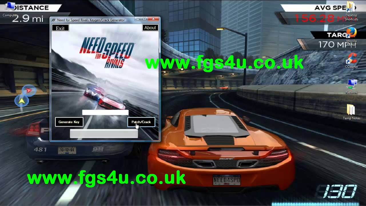 Need for Speed Rivals Crack, Keygen, Patch, Serial by ...