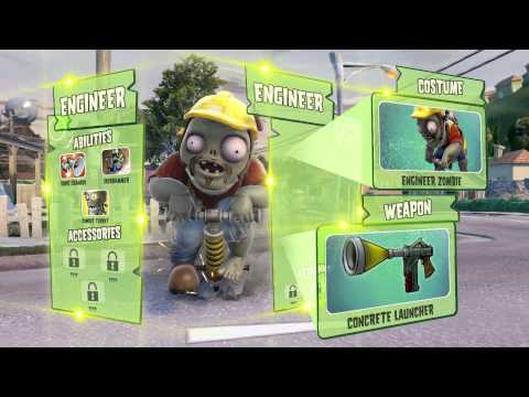 Plants vs. Zombies Garden Warfare Behind the Scenes with the Zombies