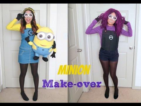 Despicable Me Minion Make-up (Halloween 2013)
