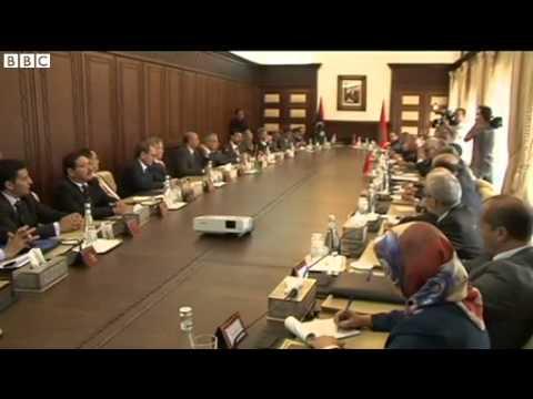 Politician says heavy firing heard near Libyan PM's hotel