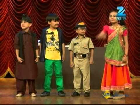 India's Best Dramebaaz May 12 '13 - Sahishnu, Inesh, Chirayu & Mukaddas