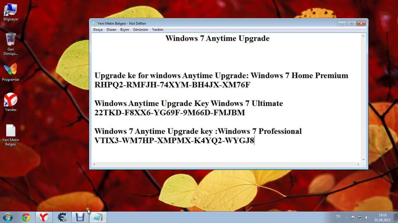 windows 7 professional upgrade key code