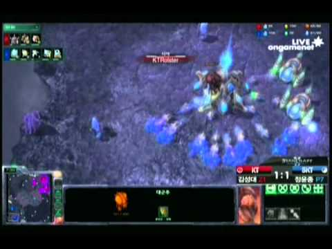 SPL [6.18] Action (KT) vs Rain (SKT) 2nd half - 6set / WCS Cloud Kingdom LE