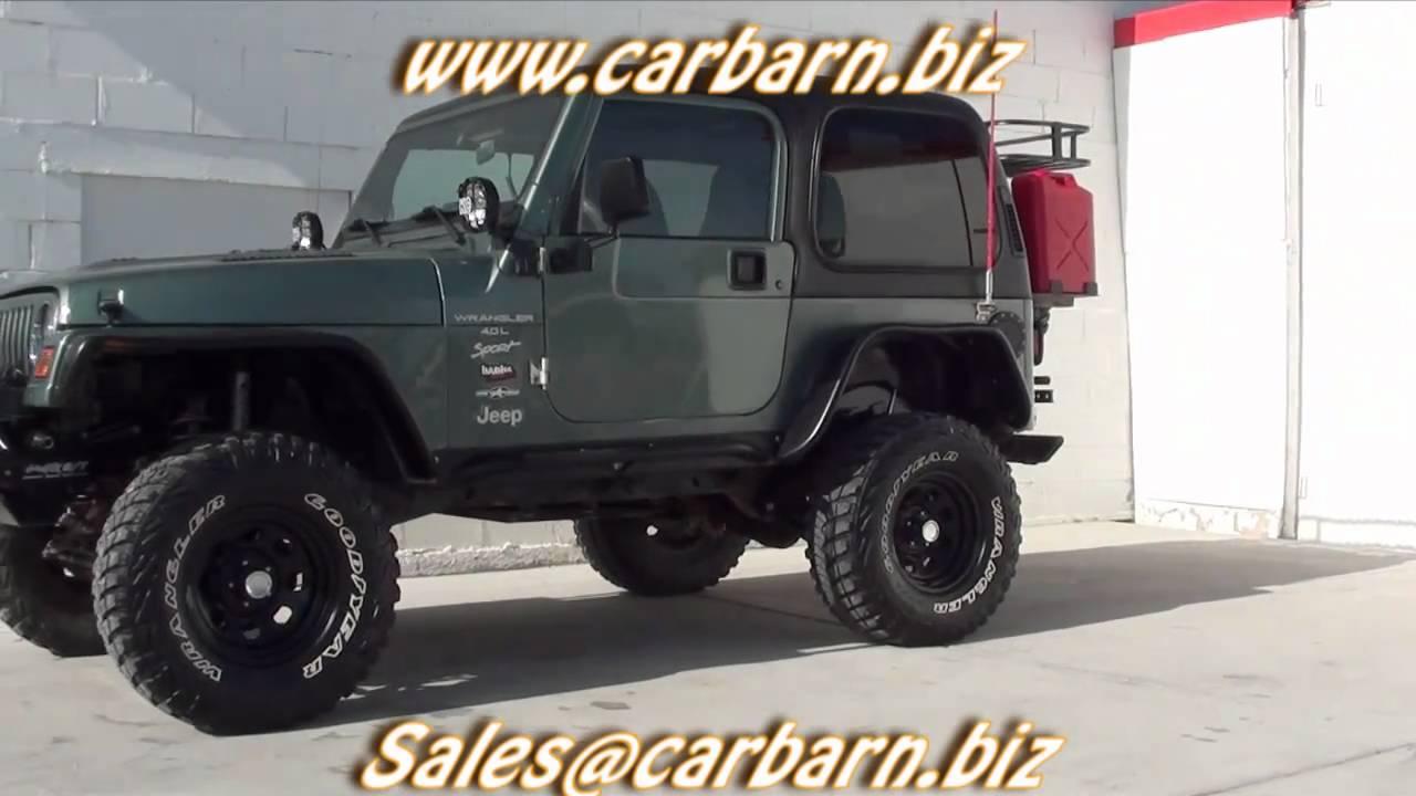 sold 1999 jeep wrangler sport 4x4 lifted winch hard. Black Bedroom Furniture Sets. Home Design Ideas