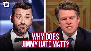 Jimmy Kimmel vs Matt Damon: The Full History Of Their Feud   ⭐OSSA