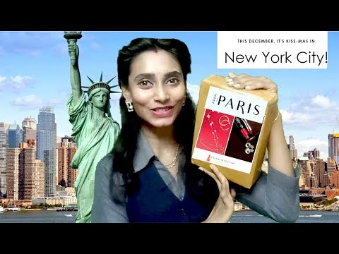 From Paris Box December 2017 | New York Edition | @699 | Unboxing & Review | SahiJeeth