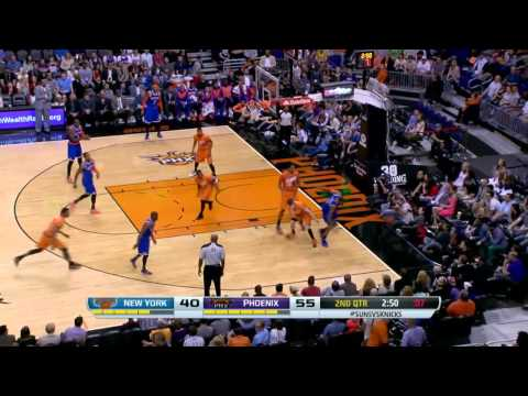 New York Kincks vs Phoenix Suns | March 28, 2014 | NBA 2013-14 Season