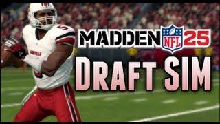 Madden 25 Connected Franchise - NFL Draft SIM w/ NCAA Football Draft Class!