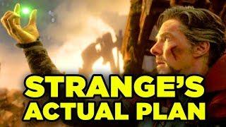 Doctor Strange's FULL PLAN Explained! Avengers Infinity War & Avengers 4 Theory!
