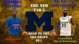 NBA 2K14 Road To The NBA Draft (Ep1) Andre Mills VS