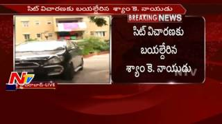 Drugs scandal: Cameraman Shyam K Naidu leaves from home to..