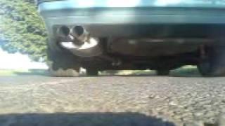 BMW 318 E36 с двигателем M43B18 с установленным выпуском PowerFlow