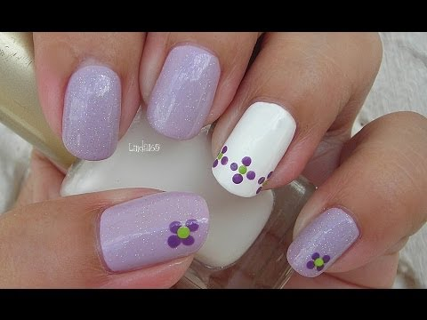 Nail Art - Lupus Awareness Month