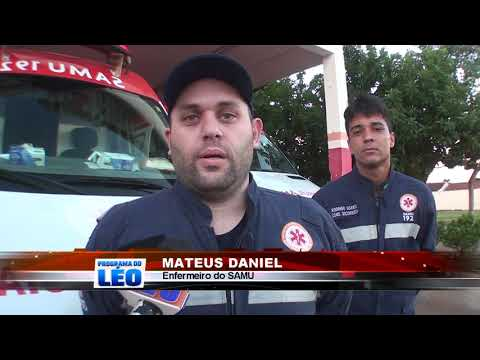 09/05/2019 - Idoso é vítima de atropelamento por motocicleta no Bairro Aeroporto em Barretos