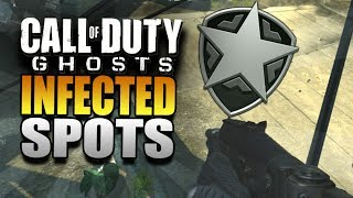 "Call Of Duty Ghosts Best ""Infected Spots"" COD Ghost"