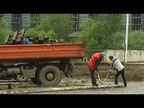 Retirada barricada da ponte de Mitrovica
