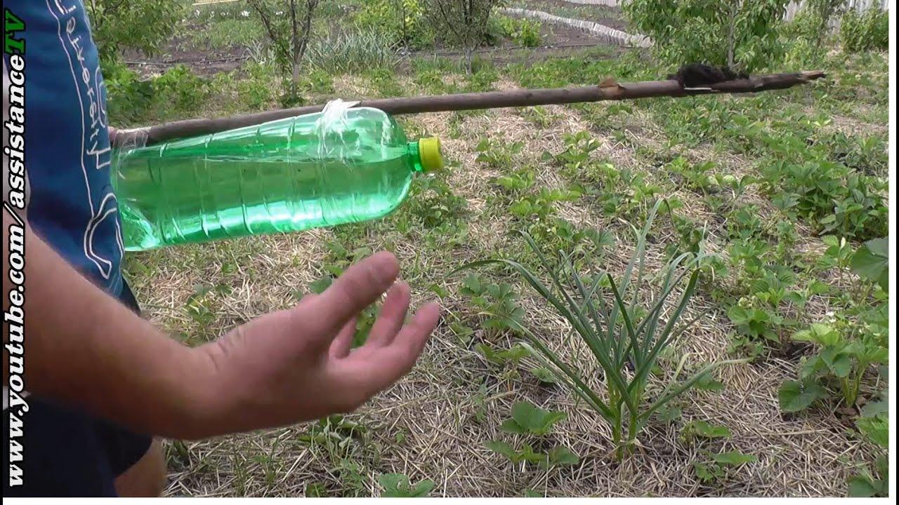Капельный полив своими руками из пластиковых