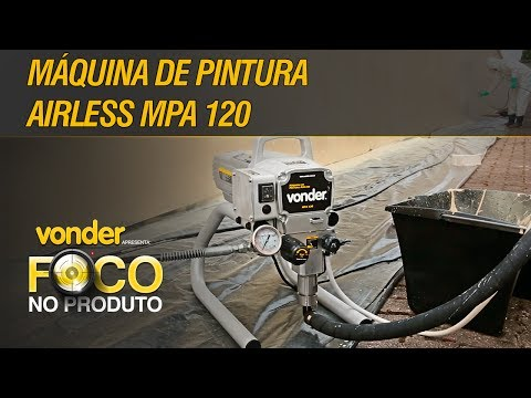 Máquina de Pintura Airless MPA 120 VONDER