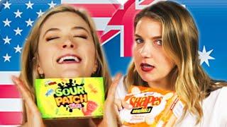 Americans & Australians Swap Snacks