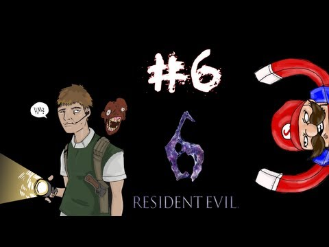Resident Evil 6 - Prelude/Leon Campaign Walkthrough / Gameplay Part 6 - Choo-Choo