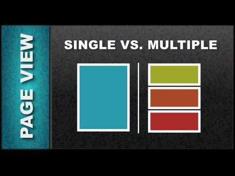 Xara Web Designer 7 Premium Lesson 20: Multipage View vs. Single Page View