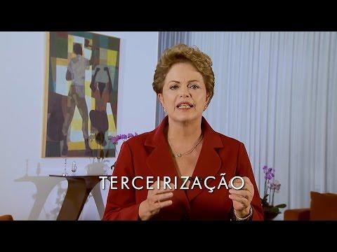 Terceirização - Mensagem da Presidenta Dilma