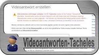 Das Videoantworten-Tacheles Video - Achtung EMOTIONEN