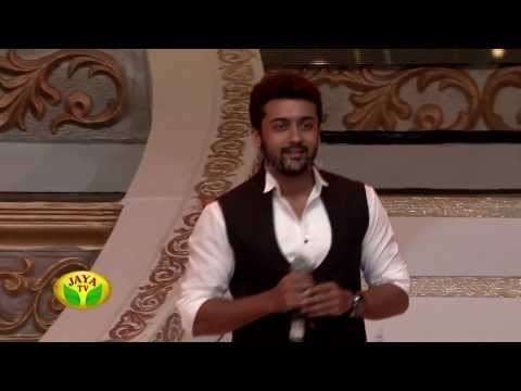 Actor Surya & Director Lingusamy In 100 Year Indian Cinema Celebration by Jaya Tv