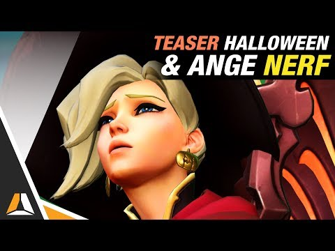 Teaser Halloween & Patch PTR : Ange nerfée ► News Overwatch