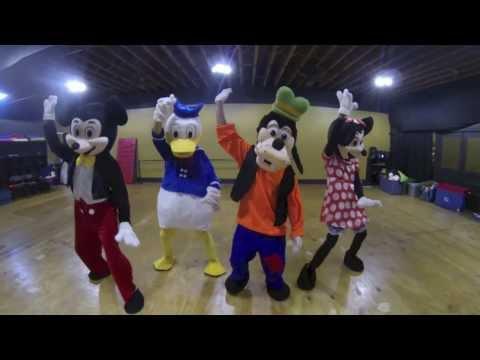 Disney Characters | #NaeNae Dance | Dragon House