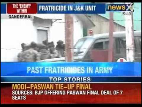 Army jawan of Rashtriya Rifles kills five colleagues in Jammu & Kashmir