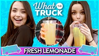 LEMONADE CHALLENGE | What The Truck w/ The MerrellTwins