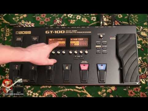 Roland Boss GT-100 GT100 Inside and Out review by tonymckenzie.com