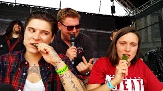 Chilli Pepper Eating Contest | Grillstock | Saturday 7 June 2014
