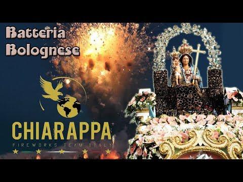 BELLONA (Ce) - Maria Ss di Gerusalemme 2018 - CHIARAPPA Fireworks (Batteria Bolognese)