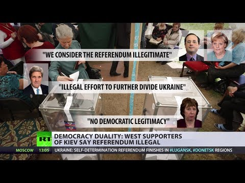 'Zero Credibility': West lashes East Ukraine referenda sparked by Kiev coup