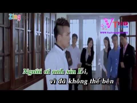 [Karaoke HD] Xin Lỗi Người Anh Yêu - Châu Khải Phong - Văn Trường Studio