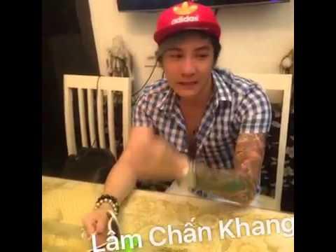 Video lúc casi Lâm Chấn Khang ở nhà....đẹp trai chết người.....iu tóa