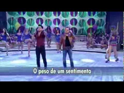 Domingão do Faustão   Zezé Di Camargo e Luciano cantam música 'Teorias'